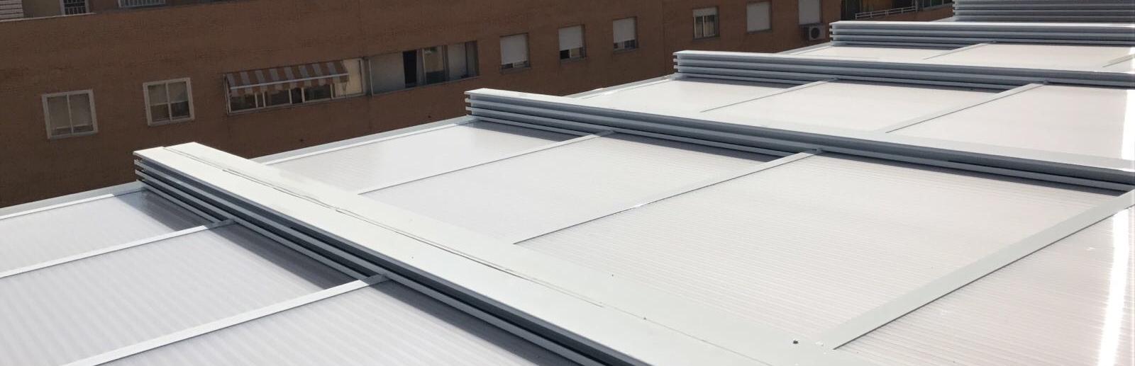 Fabricaci n de techos m viles para terrazas en madrid - Moviles de techo ...