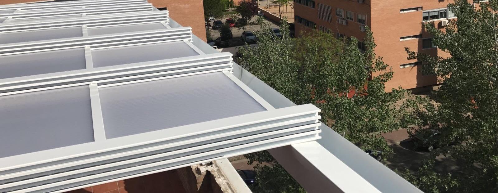 Fabricaci n de techos m viles para terrazas en madrid sistalumin - Techos moviles para terrazas ...